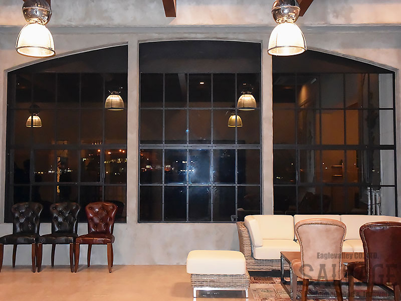 スタジオ施工例 6-10 アイアン窓