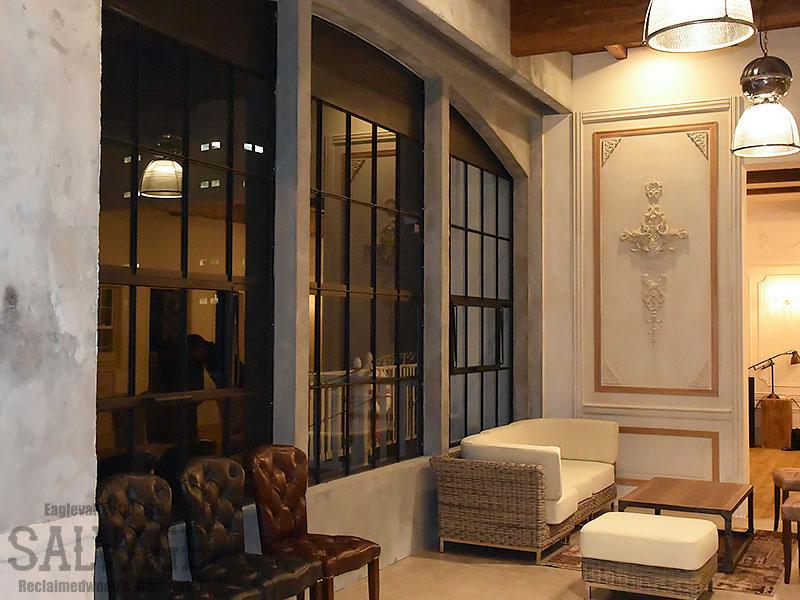 スタジオ施工例 6-11 内装施工 アイアン窓