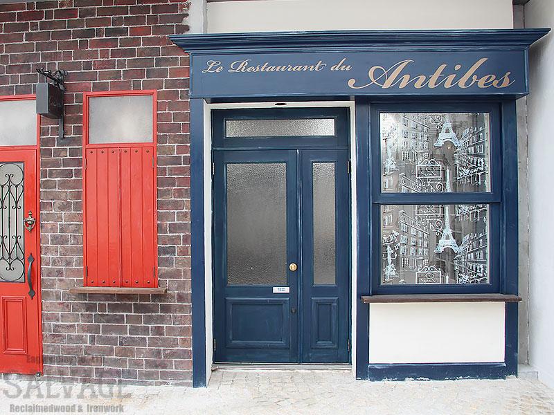 スタジオ施工例 6-18 オーダードア 外装施工