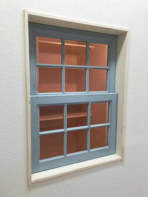 店舗施工例 2-08 オーダー窓