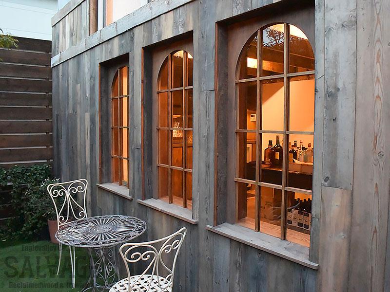 スタジオ施工例 5-02 古材外装施工 オーダー窓