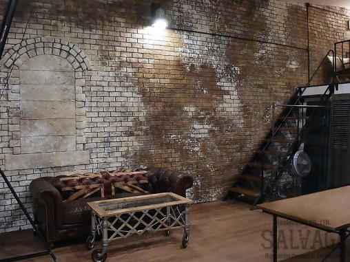 スタジオ施工例 5-05 モルタル造形
