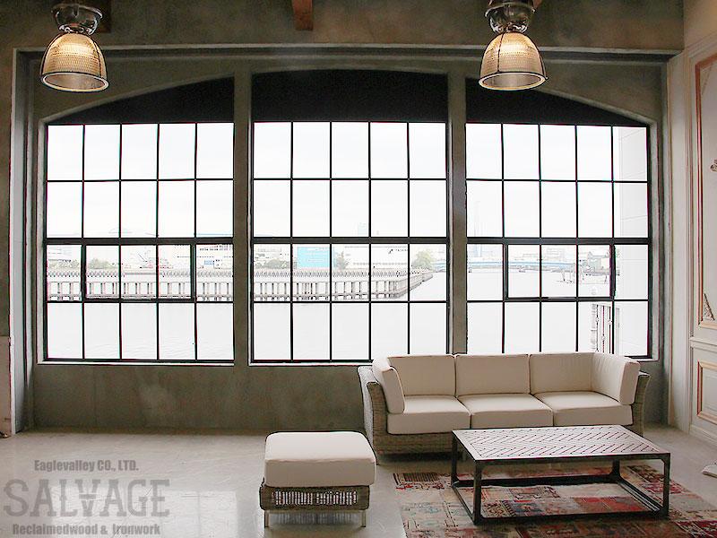 スタジオ施工例 6-26 アイアン窓