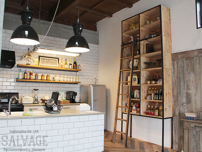 スタジオ施工例 6-39 スタジオ内キッチン施工例
