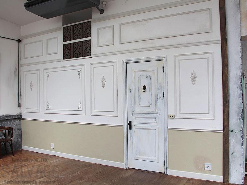 スタジオ施工例 5-37 オーダードア 内装施工