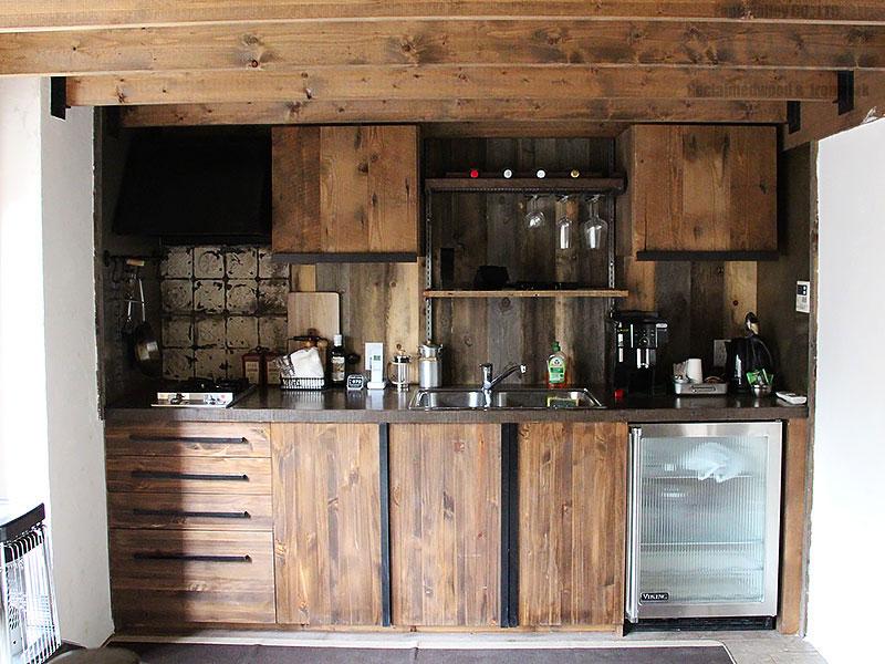 スタジオ施工例 5-24 キッチン