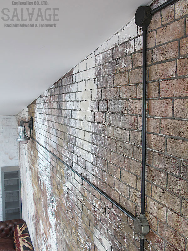スタジオ施工例 5-35 露出配線 モルタル造形