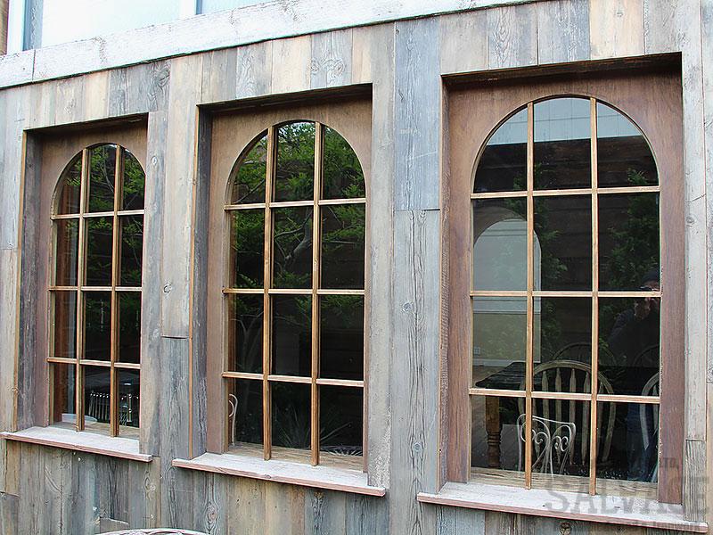 スタジオ施工例 5-22 古材外装施工 オーダー窓