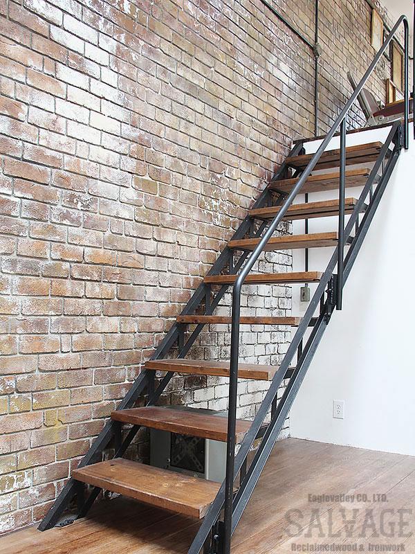 スタジオ施工例 5-34 アイアン階段