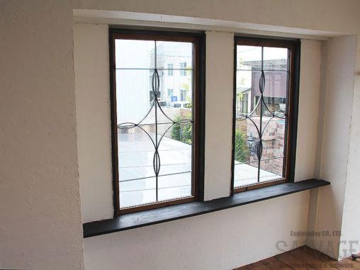 スタジオ施工例 5-38 オーダー窓 アイアン面格子
