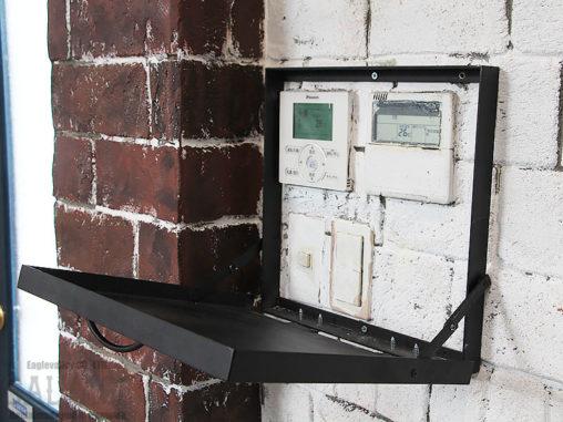 スタジオ施工例 5-42 アイアンスイッチボックスカバー