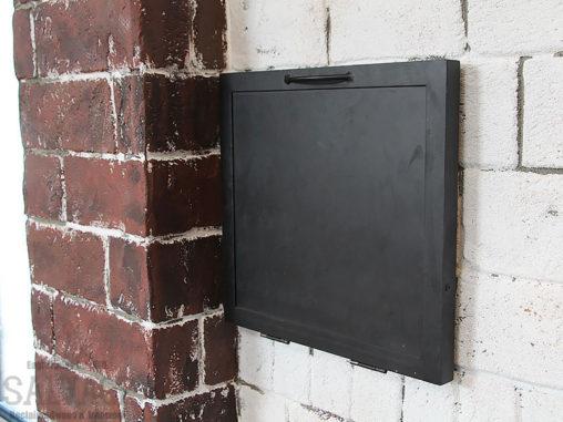 スタジオ施工例 5-41 アイアンスイッチボックスカバー
