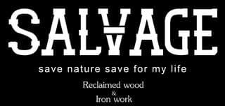 SALVAGE【サルベージ】ロゴ